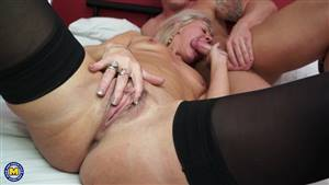 blonde wet dripping pussy